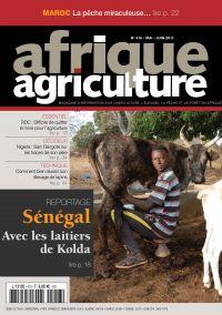 Afrique Agriculture 418 de mai/juin 2017
