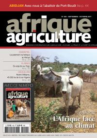 Afrique Agriculture de septembre/octobre 2017