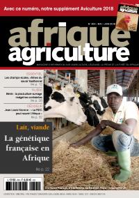 Afrique Agriculture 424 de mai/juin 2018