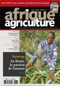 Afrique Agriculture 428 de janvier/février 2019