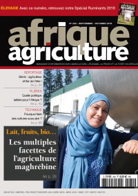 Afrique agriculture 432 septembre-octobre 2019