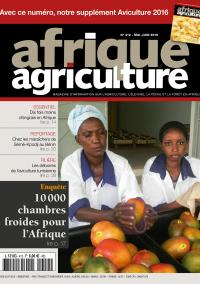 Afrique Agriculture 412 de mai/juin 2016