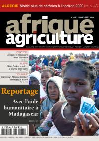 Afrique Agriculture 413 de juillet/août 2016