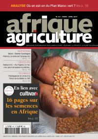 Afrique Agriculture 417 de mars/avril 2017