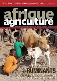 Supplément ruminants d'Afrique Agriculture 420 de septembre/octobre 2017