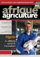 Afrique Agriculture 415 de novembre/décembre 2016