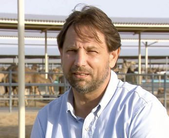 Peter Naguy, manager de la laiterie.
