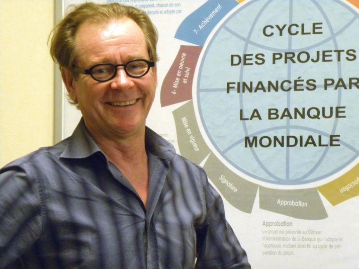 Christian Berger, responsable du Programme de développement du pastoralisme  dans les pays du Sahel. Photo: Banque Mondiale
