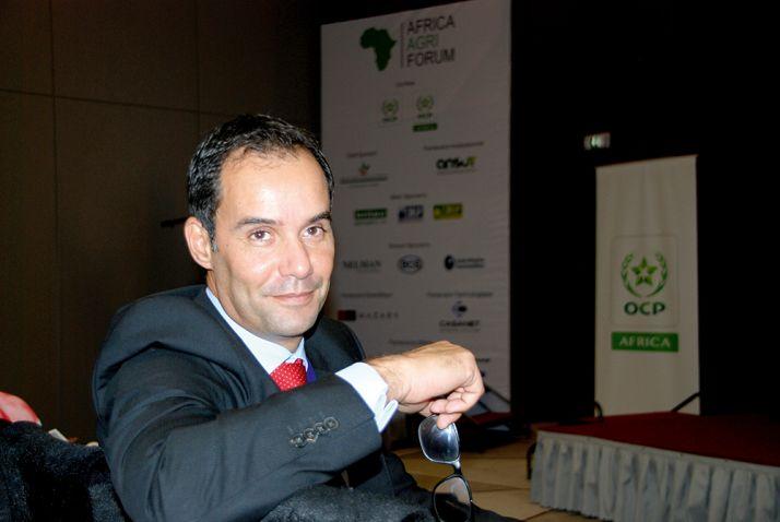 Karim Lotfi Senhadji,  directeur général  d'OCP Africa:  «Le continent utilise  quinze fois moins  d'engrais que la  moyenne mondiale».