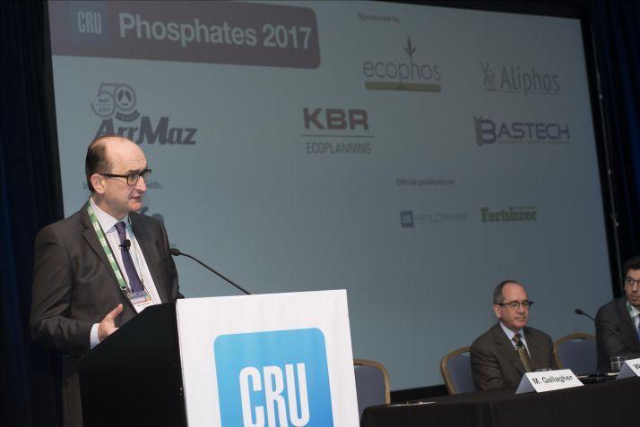 Phosphates Conference. © CRU Group