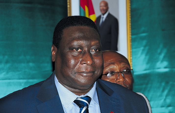 Wilfried Yameogo, directeur général de la Sofitex.  Photo: Antoine Hervé