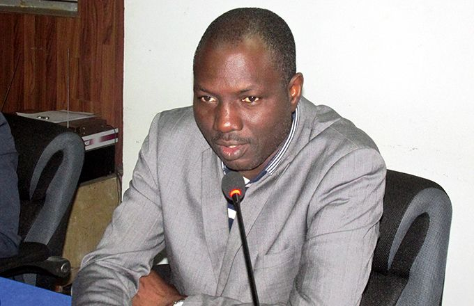 Tuo Lacina, président du conseil d'administration d'Intercoton. Photo: Moussa Camara