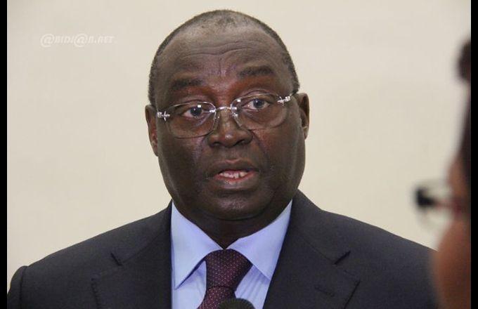 Tiémoko Meyliet Koné, gouverneur de la Banque centrale des États de l'Afrique de l'Ouest (BCEAO).