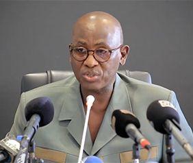 Aly Saleh Diop, ministre de l'Élevage du Sénégal. Photo : Mamadou Lamine Camara