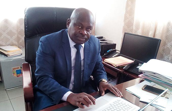 Bernard Gnenye Adou, directeur général de l'Office d'aide à la commercialisation des produits vivriers de Côte d'Ivoire. Photo: M. Camara