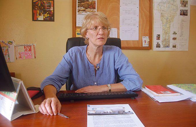 Ursula Kohnen, chef du programme Acma: «Ce programme vise l'amélioration de la sécurité alimentaire et l'accroissement des revenus agricoles à travers une meilleure commercialisation transfrontalière». Photo: G.C. Roko