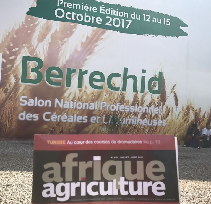 Afrique Agriculture au Salon des céréales et des légumineuses de Berrechid. ©NKB