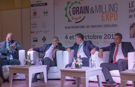 Panel d'ouverture du Grain&Milling Expo. © FNM