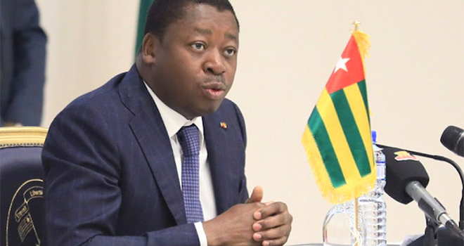 Faure Gnassingbé, président de la République du Togo. Photo : Officiel Togo