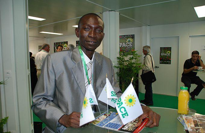 Le Space de Rennes attire chaque année des visiteurs africains. Photo: Antoine Hervé
