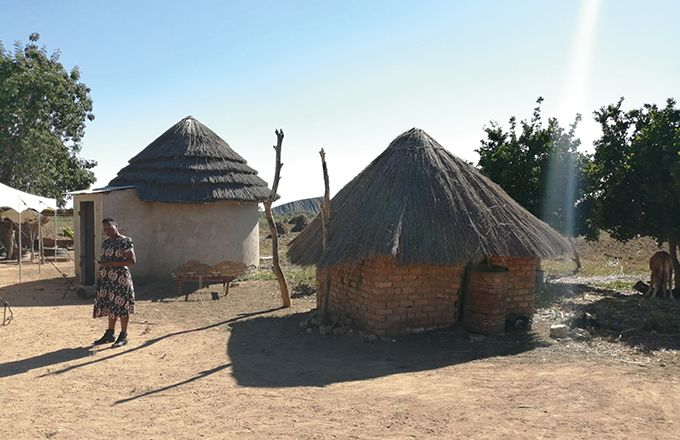 Village du Zimbabwe. Photo : UFCL