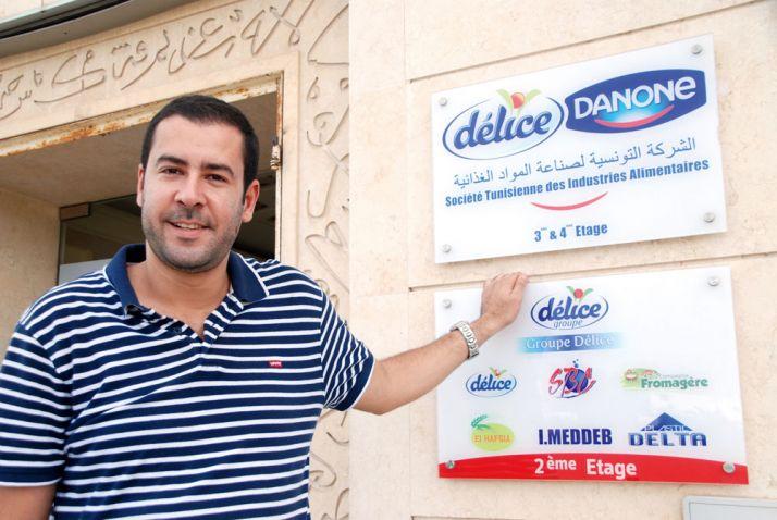 Mohamed Ali Touzri, acheteur lait chez Délice Danone. Photo: Antoine Hervé