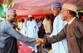 Le ministre de l'agriculture et du développement rural, Chief Audu Ogbeh, le président de l'Assemblée nationale, Yakubu Dogara et des hommes d'affaires nigérians et étrangers. Photos: droits réservés.