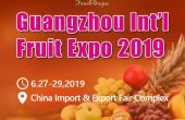 Affiche Fruit Expo 2019