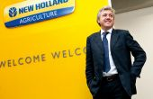 Carlo Lambro, président de New Holland Agriculture. Photo : New Holland
