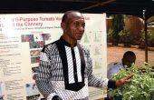 Michael Uguru est professeur en sciences végétales à l'université de Nsukka, dans le sud-est duNigeria. Photo: DR