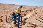Les installations d'irrigation, comme ici près d'Errachidia, constituent une bonne part des demandes de subventions agricoles au Maroc. Photo : Antoine Hervé