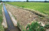 Canaux d'irrigation dans l'État de Sokoto au nord du Nigeria.  Photo: News Agency ofNigeria