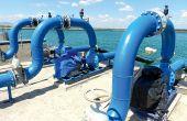 La mise en service de l'unité de dessalement et du réseau d'irrigation sont prévu en 2020. Ici, une  station de pompage agricole près de Meknès. Photo: A. Hervé