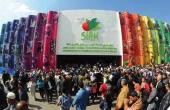 Plus d'un million de visiteurs sont attendus au Siam 2019 à Meknès. Ici, l'entrée du salon en 2018. Photo archive : DR