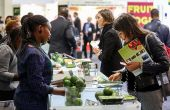 Stand de producteurs kenyans à Fruit Logistica 2017. © Fruit Logistica